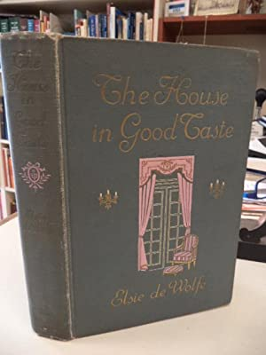 The House in Good Taste: de Wolfe, Elsie