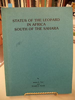 Status of the Leopard in Africa South of the Sahara