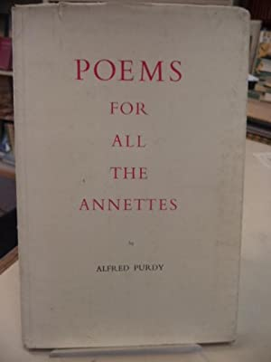 Poems for All the Annettes. [inscribed]