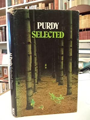 Selected Poems. [inscribed, and with original poem]