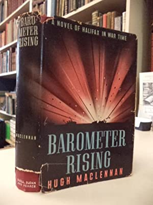 Barometer Rising [signed first US edition]