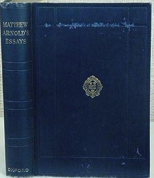 Mathew Arnold's Essays: Arnold Mathew