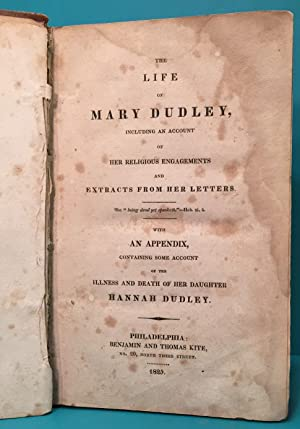 The Life of Mary Dudley (1750-1823): Dudley Elizabeth