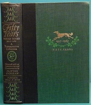 Fifty Years of Borzoi Books: Fadiman Clifton