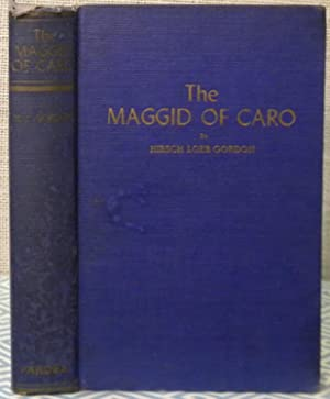 The Maggid of Caro: Gordon Hirsch