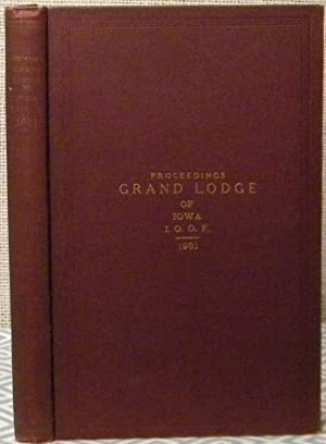 Proceedings Grand Lodge of Iowa 1931: Grand Lodge of Iowa