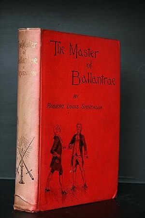 The Master of Ballantrae. A Winters Tale: Stevenson, Robert Louis