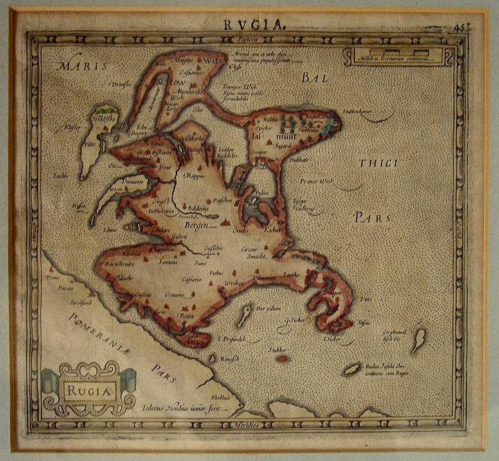 Rügen_Island_Jodocus_Hondius_Very_Good