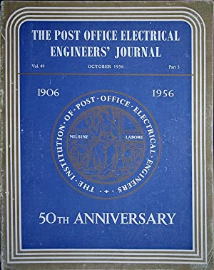 The Post Office Electrical Engineers Journal, Vol.: Post Office Electrical