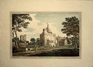 Oxfordshire. Stanton Harcourt: Drawn by J.