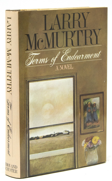 Terms of Endearment McMurtry, Larry Hardcover First edition. 410pp. 1 vols. 8vo. A nice copy of the wonderful McMurtry novel that was later made into a popular movie. Cloth-backed boards. Small cr