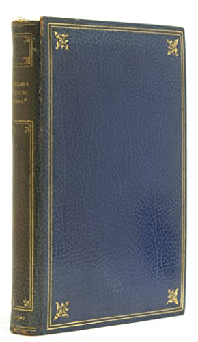 The Complete Poetical Works.Edited by Thomas Hutchinson