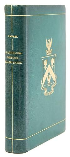 La letteratura americana e altri saggi: Pavese, Cesare