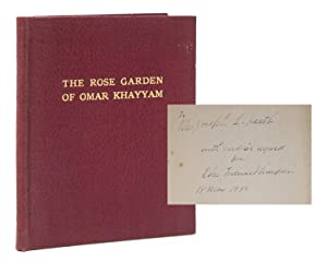 The Rose Garden of Omar Khayyam Founded: Kháyyám, Omar) Thompson,