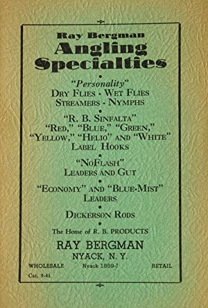 Ray Bergman Angling Specialities . Home of R.B. Products