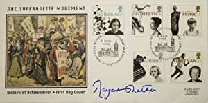 Signature on First Day Cover of