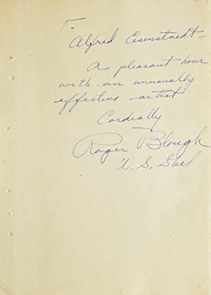 Autograph Note Signed, n.p., n.d.