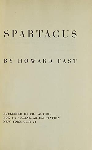 Spartacus: Fast, Howard