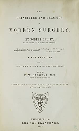 The Principles and Practice of Modern Surgery.Edited by F.W. Sargent, M.D.