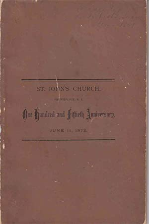 An Historical Discourse delivered in St. John's: Clark, Thomas M.