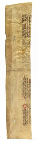 Medieval Binding Waste Fragment