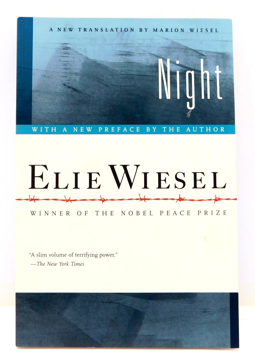 NIGHT by Wiesel, Elie: Hill and Wang/Farrar, Straus and Giroux  9780374500016 Paperback - The Parnassus BookShop
