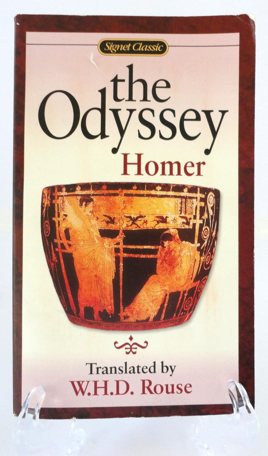 the transformation of odysseus through his journeys in the odyssey a poem by homer