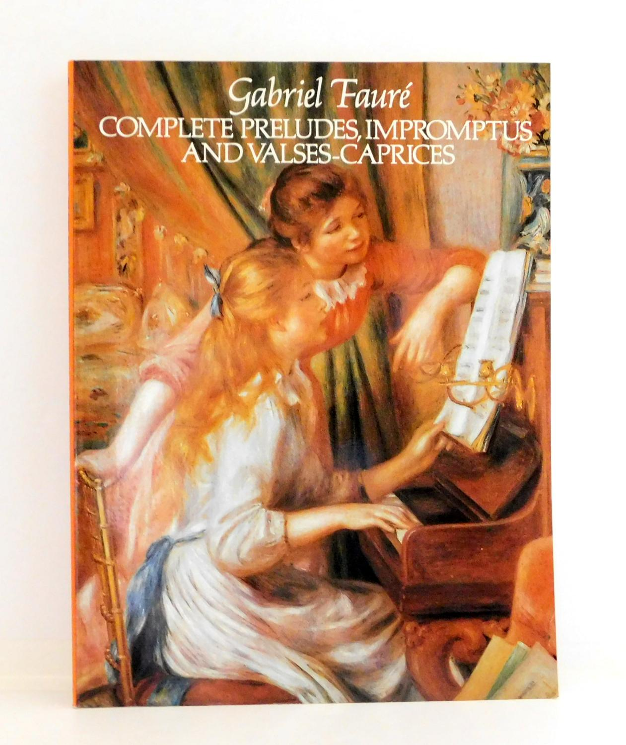 Complete Preludes, Impromptus and Valses-Caprices (Dover Music for Piano)