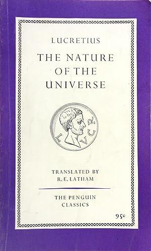 Lucretius On the Nature of the Universe: LUCRETIUS