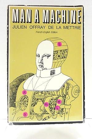 Man A Machine: French-English Edition (Open Court: La Mettrie, Julien