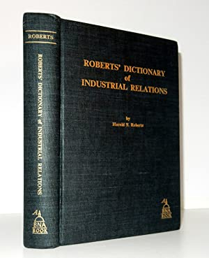 Roberts' Dictionary of Industrial Relations