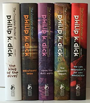 The Complete Stories of Philip K Dick 5 volume SET
