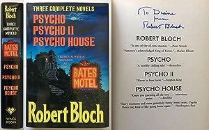 Robert Bloch: Three Complete Novels : Psycho,: Bloch, Robert