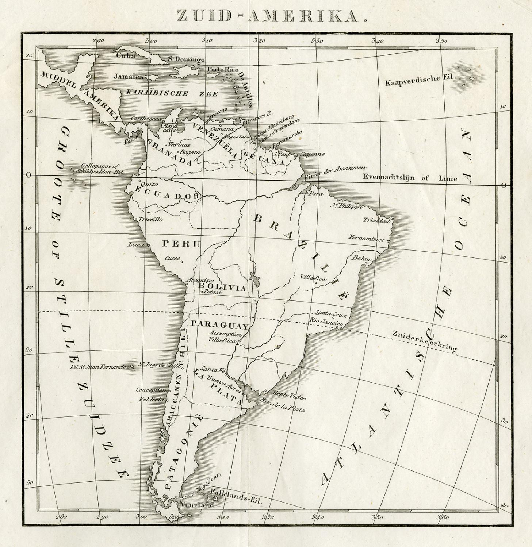 Antique Map-SOUTH AMERICA-1842   [ ] (bi_22589586758) photo