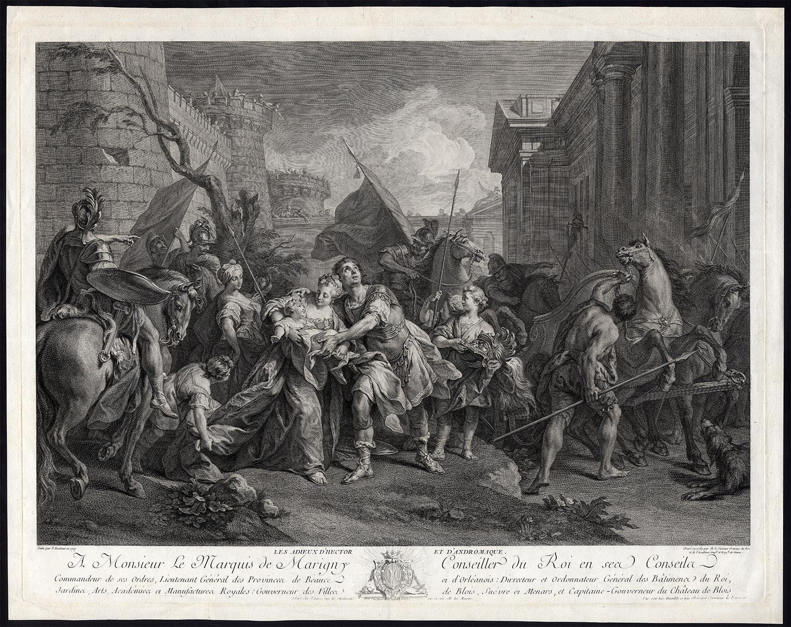 viaLibri ~ Antique Master Print-FAREWELL-HECTOR-ANDROMACHE