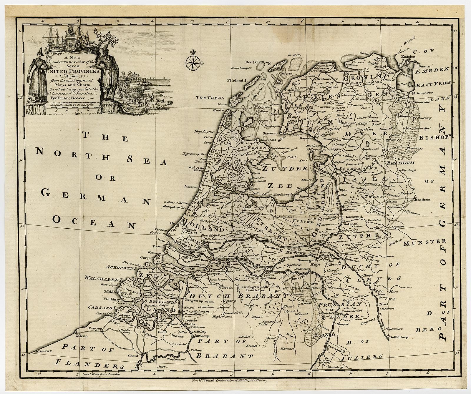 viaLibri ~ Antique Print-SEVEN UNITED PROVINCES-DUTCH REPUBLIC ... on