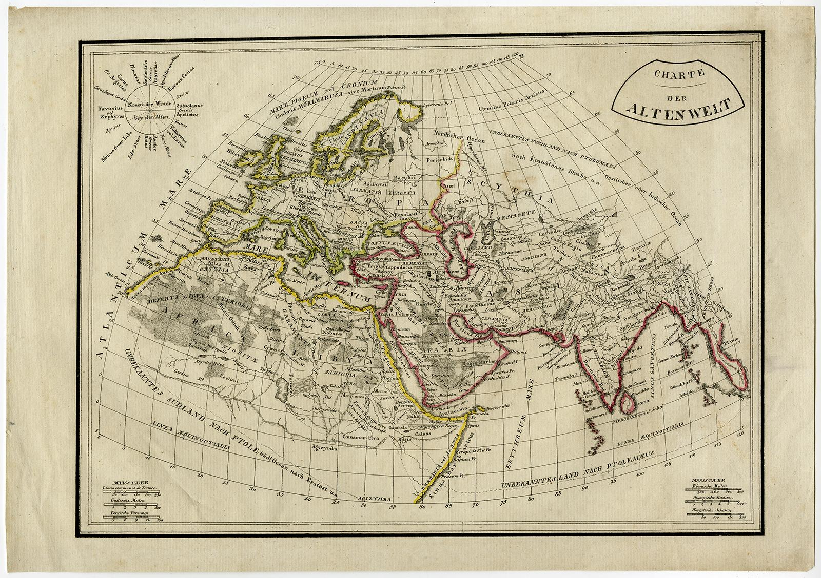 1800 Map Of The World.Antique Map Old World Europe Africa Asia 1800 Theprintscollector