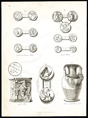 Antique Print-ANCIENT OBJECTS-I-MALTA-Boisgelin-1804