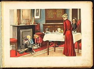 Antique Print-Sinterklaas gifts-SINT NICOLAS-ZWARTE PIET-Abramsz-1911