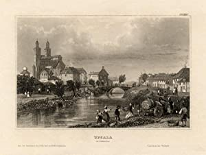 Antique Print-UPSALA-UPPSALA-SWEDEN-SCANDINAVIA-Meyer-1850