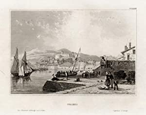 Antique Print-TRIESTE-SHIP-ITALY-Meyer-1850