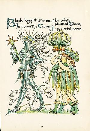 Antique Print-FRITILLARIA IMPERIALIS-FLOWER-FLORA'S FEAST-ART DECO-Crane-1889