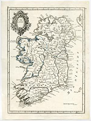 Antique Print-DUBLIN-WATERFORT-LONDONDERRY-CORKE-IRELAND-Le Rouge-1756