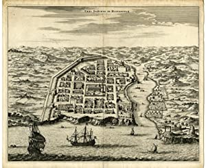 Antique Print-SANTO DOMINGO-HISPANIOLA-DOMINICAN REPUBLIC-Montanus-1671