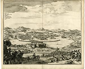 Antique Print-FORTRESS WILLIAM-OLINDA-BRAZIL-Montanus-1671