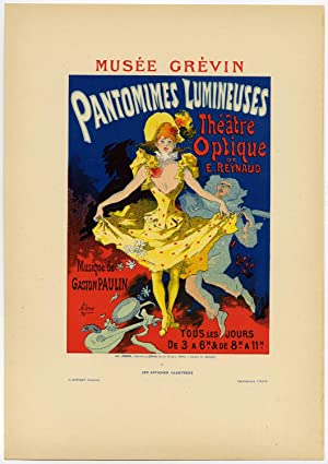 Antique Print-PANTOMIMES LUMINEUSES-POSTER-CHERET-Cheret-1896