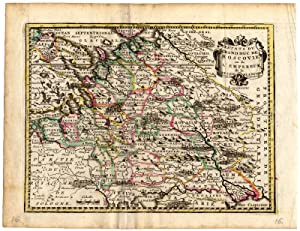 Antique Map-DUCHY OF MOSCOW-WHITE RUSSIA-de Missy-de Leth-1749