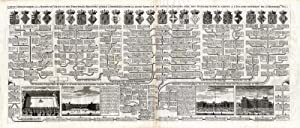 Antique Print-GENEALOGY-HOUSE OF VALOIS-FRANCE-PALACES-PARIS-Chatelain-1732
