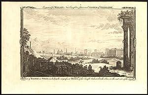 Antique Print-BAALBEK-BALBEC-SYRIA-VIEW-RUINS-SUN TEMPLE-Smith-1782