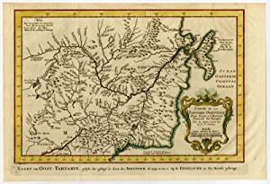 Antique Print-EAST TARTARY-RUSSIA-Schley-Bellin-1758